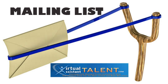 Importance Of Mailing List On Website – Virtual Assistant Talent