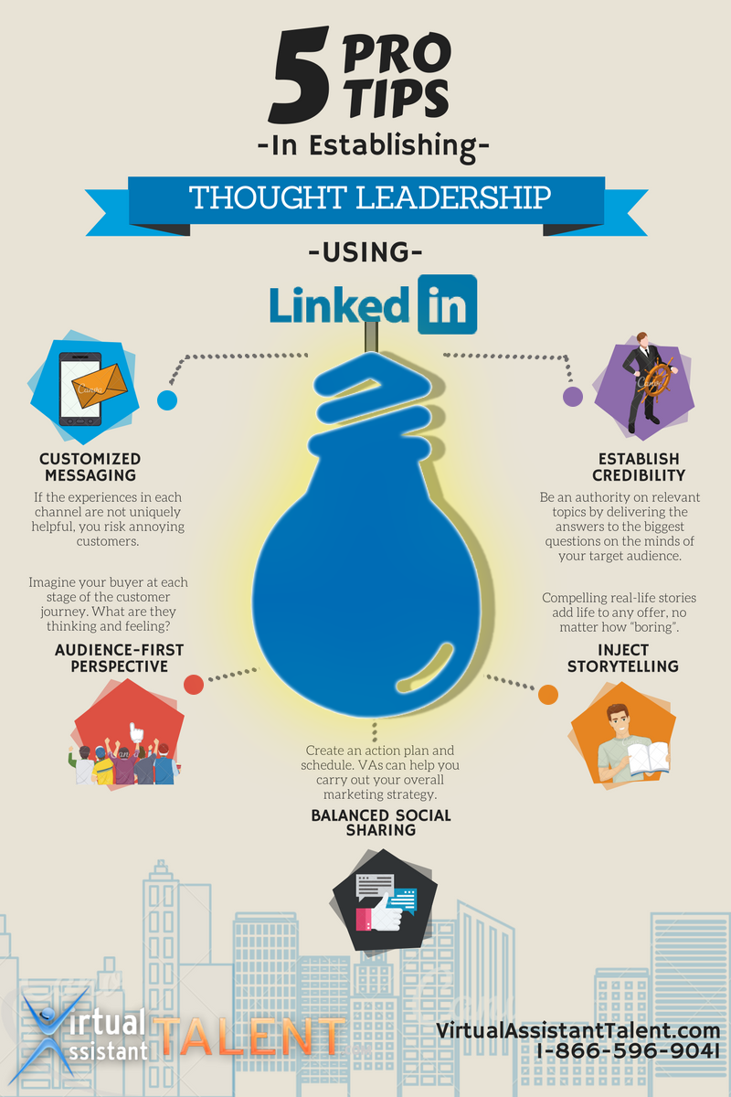 5 Pro Tips in Establishing Thought Leadership Using LinkedIn